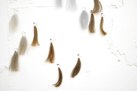 カラーアッシュ毛束2